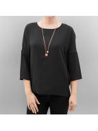 Vero Moda T-Shirt vmCigi 3/4 schwarz