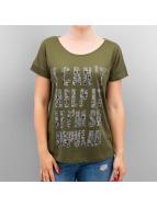 Vero Moda T-shirt VMCombat Pet verde