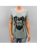 Vero Moda T-Shirt vmCharlotte Vegas vert