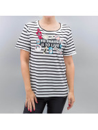 Vero Moda T-Shirts vmWilly Patch beyaz