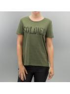 Vero Moda T-Shirts vmArmy yeşil