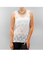 Vero Moda Top Lilly Lace blanc