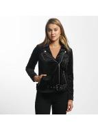 Vero Moda Transitional Jackets vmOrlon Velvet Short svart