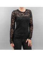 Vero Moda Tričká dlhý rukáv vmCeleb èierna