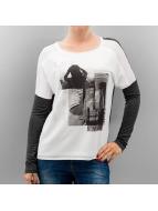 Vero Moda Tričká dlhý rukáv vmAudrey biela