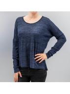Vero Moda Tričká dlhý rukáv vmSabisanne modrá