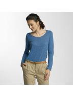 Vero Moda Tričká dlhý rukáv vmLua modrá