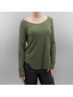 Vero Moda Tričká dlhý rukáv vmLua zelená