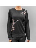 Vero Moda Tröja Vmflower Embroidery grå