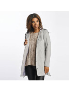 Vero Moda vmMelena Rich 3/4 Wool Jacket Light Grey Melange