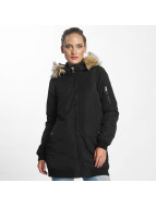 Vero Moda vmDicte Fake Fur 3/4 Jacket Black Beauty