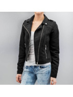 Vero Moda Veste en cuir vmMadden Diva noir