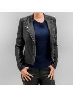 Vero Moda Veste en cuir vmShandy noir