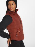 Vero Moda vmSense Short Waistcoat Fired Brick