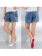 VILA Shorts ViAlways blau