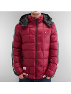 Voi Jeans Winterjacke Shine Square Quilted Winter rot