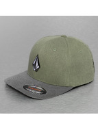 Volcom Бейсболкa Flexfit Full Stone Heather зеленый