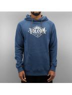 Volcom Bluzy z kapturem Stone Pack niebieski