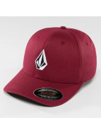 Volcom Casquette Flex Fitted Full Stone XFit rouge