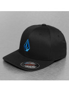 Volcom Flexfitted Cap Full Stone XFit zwart