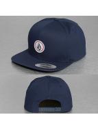 Volcom Gorra Snapback Quarter azul