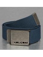 Volcom Gürtel Web blau