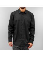 Volcom Hemd Everett Solid schwarz