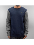 Volcom Pullover Single Color Blocked Basic blue