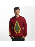 Volcom Pullover Warm Wished red