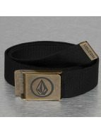 Volcom riem Circle Web Belt zwart