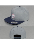Volcom Snapback Cap Quarter grigio