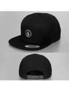 Volcom Snapback Cap Quarter nero