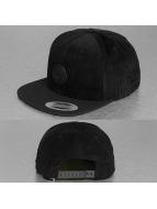 Volcom Snapback Cap Quarter Fabric nero