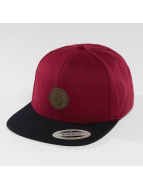 Volcom Snapback Cap Quarter purple