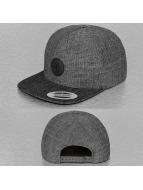 Volcom Snapback Cap Quarter Fabric schwarz