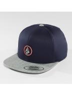 Volcom Snapback Caps Quarter niebieski