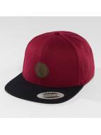 Volcom Snapback Caps Quarter purpuranpunainen