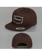 Volcom Snapback Caps Cresticle ruskea