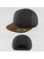 Volcom Snapback Caps Quarter Fabric ruskea
