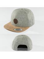 Volcom Snapback Caps Quarter szary
