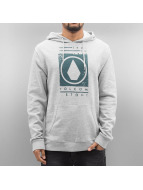 Volcom Sweat à capuche Stone Stamp Fleece gris