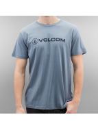 Volcom T-shirt Linoeuro blå