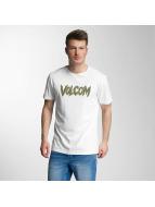 Volcom T-Shirt Tetsunori Stone blanc