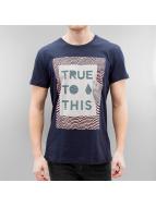 Volcom T-Shirt True To This bleu