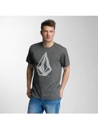 Volcom T-Shirt Creep Stone grau