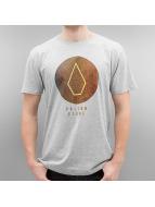 Volcom T-Shirt Cracked Basic grau