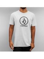 Volcom T-Shirt Circle Stone grey
