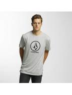 Volcom T-Shirt Circle Stone Basic gris