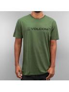 Volcom T-Shirt Euro Pencil grün