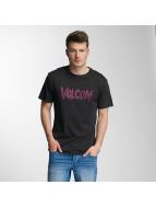 Volcom T-shirt Tetsunori Stone nero